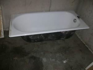 La baignoire en acier 1