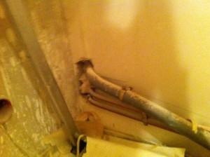 Cheminement analisation salle de bain
